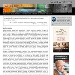 Espace public - Dominique WOLTON