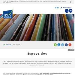 17/3 - 13h30/15h30 - CENTRE DE DOCUMENTATION - IREV Centre de ressources politique de la ville Lille