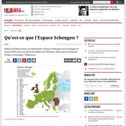 Qu'est-ce que l'Espace Schengen ?