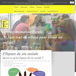 L'Espace de vie sociale - Arthon Animation Rurale