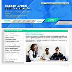 Espace virtuel pour les parents