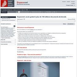 Espacenet - Accueil