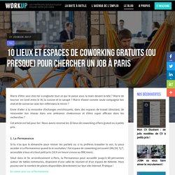 10 espaces de coworking gratuits à Paris (ou presque)