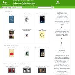 Espaces de l'édition indépendante