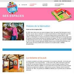 Ses espaces - Le Musée du Bonbon Haribo sur Uzès dans le Gard