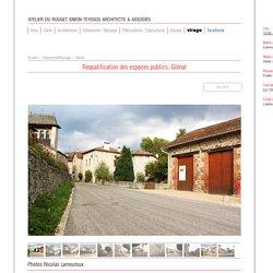 Espaces publics - Glénat - Cantal - Atelier Teyssou