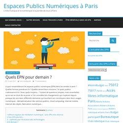 Espaces Publics Numériques à Paris