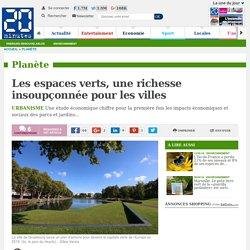 Les espaces verts, une richesse insoupçonnée pour les villes