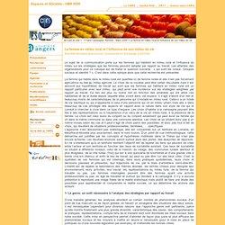 Espaces et SOciétés - UMR 6590 - La femme en milieu rural et l'influence de son milieu de vie