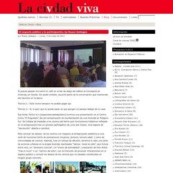 El espacio público y la participación, by Reyes Gallegos