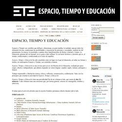 Espacio, Tiempo y Educación