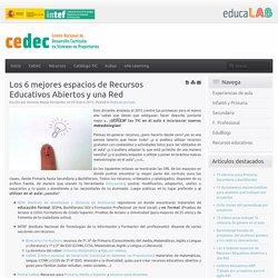 Los 6 mejores espacios de Recursos Educativos Abiertos y una Red