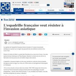 L'espadrille française veut résister à l'invasion asiatique