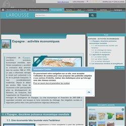 Espagne : activités économiques