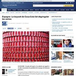 Espagne: Le boycott de Coca-Cola fait dégringoler les ventes