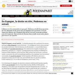 En Espagne, la droite en tête, Podemos en retrait - Page 2
