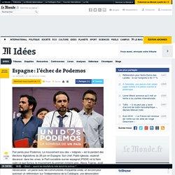 Espagne : l'échec de Podemos