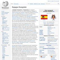 Espagne franquiste