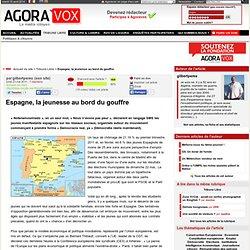 Espagne, la jeunesse au bord du gouffre