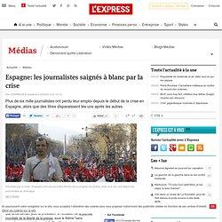Espagne: les journalistes saignés à blanc par la crise