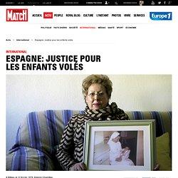 Espagne: justice pour les enfants volés