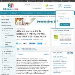 En Espagne et en Suisse, la profession infirmière avance...