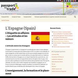 L'Espagne (Spain) - Business Culture (FR)