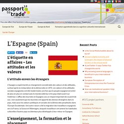 L'Espagne (Spain) - Business Culture (FR)