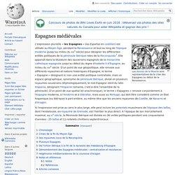 Espagnes médiévales