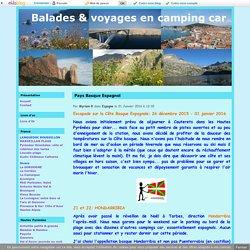 Pays Basque Espagnol - Balades & voyages en camping car