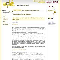 Espagnol - Cronología de la transición