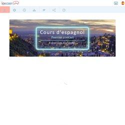 Cours d'espagnol gratuit