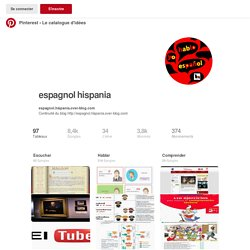 espagnol hispania sur Pinterest