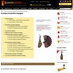 A propos du jambon espagnol, ibérique, Bellota et Serrano