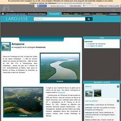 Amazone en espagnol et en portugais Amazonas