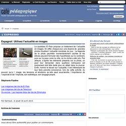 Espagnol: Utilisez l'actualité en images