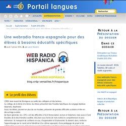 Une webradio franco-espagnole pour des élèves à besoins éducatifs spécifiques