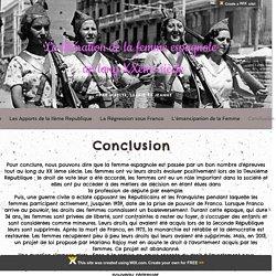TPE Evolution des droits des femmes espagnoles