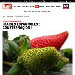 PARISMATCH 09/02/15 Les vérités de Jean-Pierre Coffe - Fraises espagnoles : consternaçion !