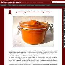 Saga des sauces espagnoles : la salsa brava (ou le ketchup made in Spain)