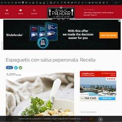Directo al Paladar - Espaguetis con salsa peperonata. Receta