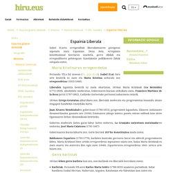 Espainia liberala - hiru.eus