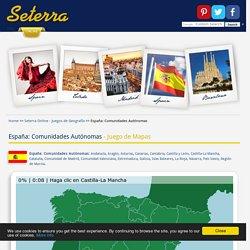 España: Comunidades Autónomas - Juego de Mapas