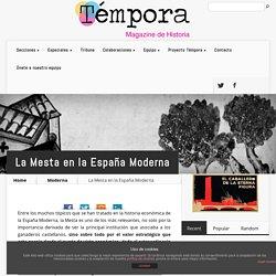 La Mesta en la España Moderna - temporamagazine.com