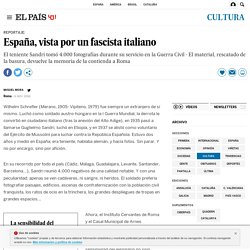 España, vista por un fascista italiano