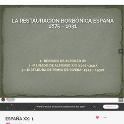 Genial.ly Alfonso XIII y Primo de Rivera