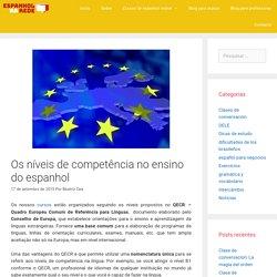 Espanhol níveis de competência