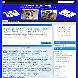 MI BLOG DE ESPAÑOL » Un blog para aprender y compartir