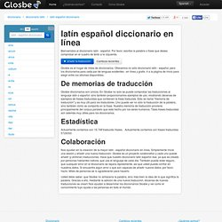 Latín-Español diccionario, Glosbe