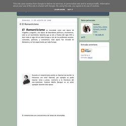 Español: El Romanticismo